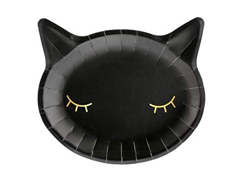 - Schwarze Halloween Katze