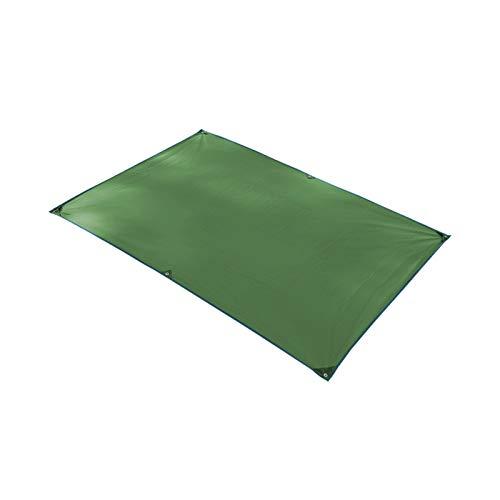 JDKC Lona Refugio Impermeable, Refugio de Lona para Acampar, Toldo de Toldo para Caravana, Alfombra para Piscina Tarp (Color : Green, Size : 150X215CM)