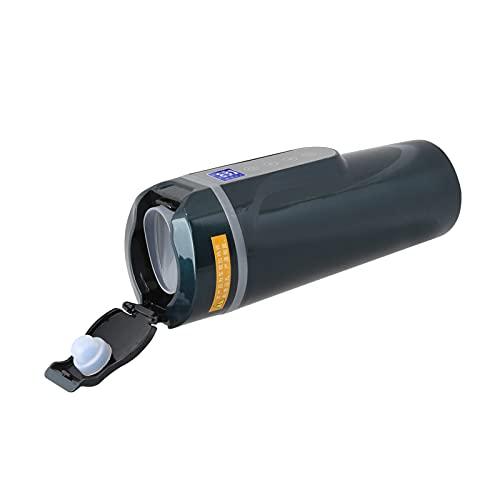 Taza eléctrica para automóvil, botella de aislamiento de acero inoxidable con tapa abatible de doble propósito para acampar para la cocina en casa