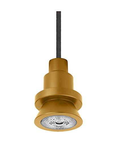 Osram Vintage Edition 1906 Pendulum, gold, GU10 - Fassung, Deckenleuchte, flexibles Zugseilsystem, P20, inklusive Leuchtmittel, Aluminiumgehäuse