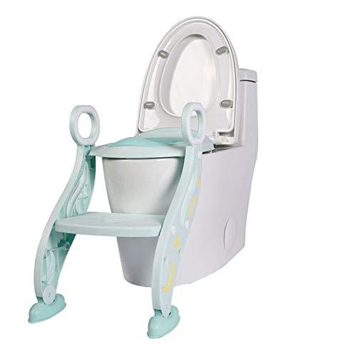 補助便座 子供用 ステップ付き トイレトレーニング おまる トイレ 滑り止め 高さ調節可能 柔らかいクッション 取外し可能 尿漏れ防止 折りたたみ式 安心 踏み台 ステップ 組み立て簡単 ピンク ブルーPU