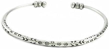 b5f0026f699 Sterling Silver Thin Cuff Bracelet,
