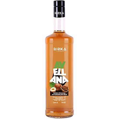 RISKA - Avellana Licor sin alcohol 1 Litro