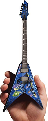 Dave Mustaine Megadeth Signature V Rust In Peace Mini Réplica de guitarra...