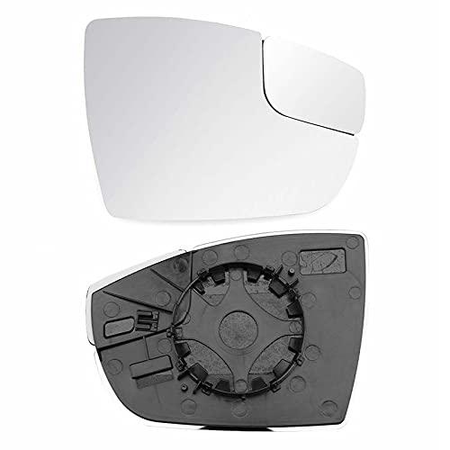 BYWWANG Espejo retrovisor de Coche de 2 uds, Espejo de Cristal de visión Trasera len, para Ford Focus 2012-2018