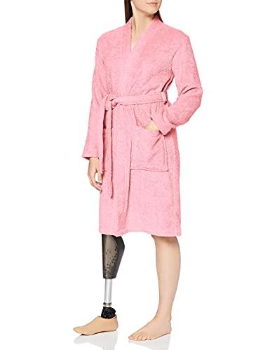 Iris & Lilly, Albornoz Corto de Rizo para Mujer, Rosa (Pink), XL