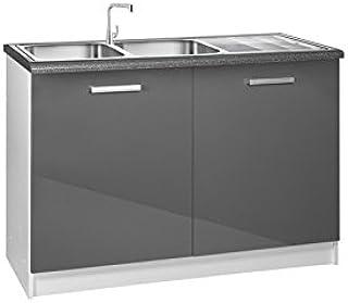 meuble cuisine sous evier 120 cm. Black Bedroom Furniture Sets. Home Design Ideas