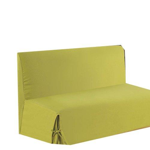 HomeMaison HM69451665 Sofabezug aus Baumwolle/Polyester, 200x140cm, Anisgrün