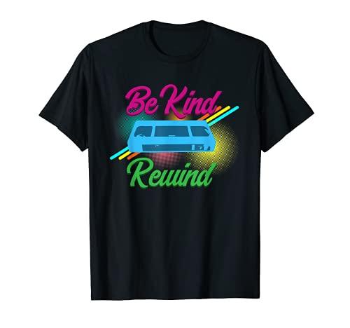 Be Kind Rewind VCR Vintage 90s 80s Men Women T-Shirt