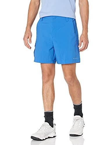 Columbia Pantalón Corto Deportivo Bahama™ para Hombre, Hombre, Pantalones Cortos de Atletismo, 1823541, Azul Intenso, Smallx8