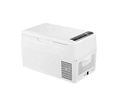 Alpicool C22 Portable Refrigerator 23 Quart Vehicle, Car, Truck, RV, Mini Fridge Freezer for Driving, Travel, Fishing, Outdoor -12/24V DC with USB Socket
