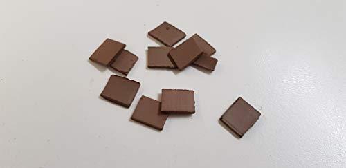 02081 BALDOSA Dimensions mm 15x15x3 Pieces 150 Domus Kits Bricks Ref ZIEGEL,MATTONCINI,Brique,LADRILLO