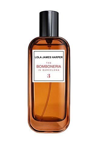 Perfume interior & ambiente, aroma para la casa, 'Ámbar, incienso y vainilla', 3 The Bomboneria in Barcelona/50 ml, marca Lola James Harper