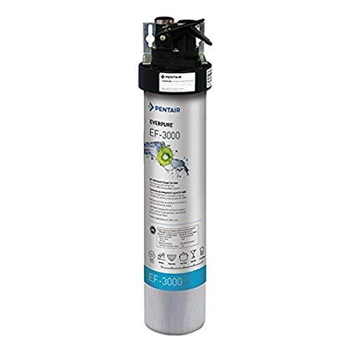 Everpure EV985700 EF-3000 Full Flow Drinking Water Filter System, Silver