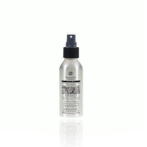 DOMUS OLEA - UNDICI - Tonico Spray Volumizzante - Dona corpo e struttura alla chioma - Con Olivo, Piante Toscane e Fitocheratina - Texture leggera - Ideale per tutti i tipi di capelli - 100 ml