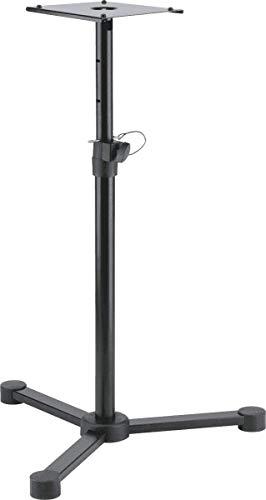 Konig & Meyer 26720-000-55 680 bis 1140 mm verstellbarer Monitorständer - Schwarz