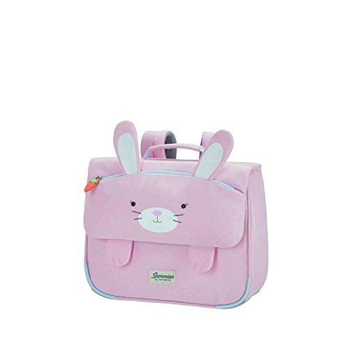 Samsonite Happy Sammies - Mochila Escolar S, 32 cm, 8 l, Rosa (Rabbit Rosie)