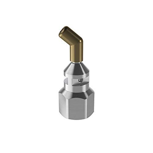 Steinel Langdüse gewinkelt Ø 3,0 mm, Zubehör für Klebepistole GluePro 300 und 400, für schwer zugängliche Stellen