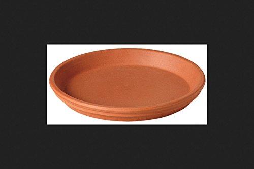 deroma Untertasse 29,2cm Durchmesser Terra Cotta Terrakotta-Farbe
