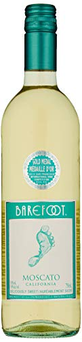 Barefoot Moscato, 750ml Pack of 6