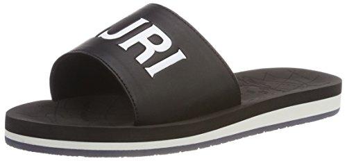 Napapijri Footwear Damen Ariel Offene Sandalen, Schwarz (Black), 39 EU