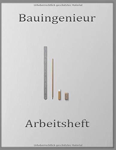 Bauingenieur Planer: Planer Arbeitsbuch Geschenk für Bauingenieur (German Edition)