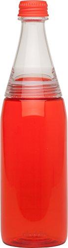 Aladdin 32353 Bistro To-Go Trinkflasche, rot 0,6l