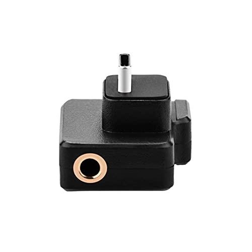 fuchsiaan Adaptador de conector de audio de 3,5 mm de carga para DJI Osmo Action Camera - Negro