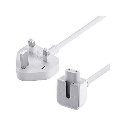 Replacement Extension Power Cord UK Standard Plug 6 Feet Cable for Apple MacBook 45W 60W 85W Magsafe or Magsafe 2 Power Adapter