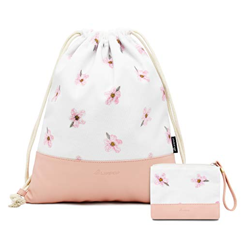 Leapop Turnbeutel Kirschblüte, Rosa