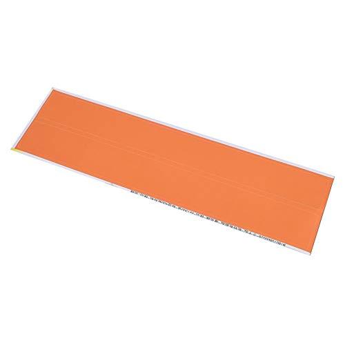 SALUTUYA 12PCS Adhesivo de Envoltura de Flecha Fuerte y Duradero fácil de almacenar y Usar, para Flecha de Tiro con Arco Universal(Orange)