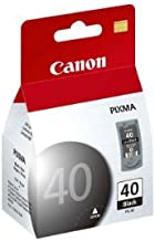 Canon PG-40 Black Ink Cartridge, Compatible to iP2600, iP800, iP700 and iP600 Printers
