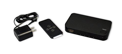 ラトックシステム4K60Hz対応4入力1出力HDMIセレクターRP-HDSW41-4K