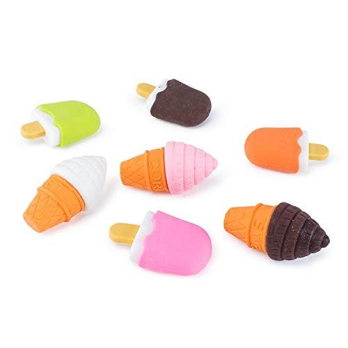 Handy Basics Mini Ice Cream and Frozen Treat Pencil Erasers 48pcs