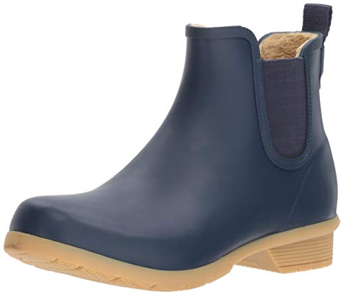 Bainbridge Fleece Lined Chelsea Bootie, Navy, 8 M US
