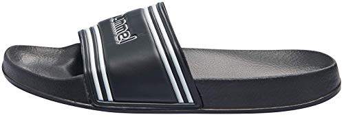 Hummel Unisex-Erwachsene Pool Slide Retro 203807 Dusch- und Badeschuhe, Schwarz (Black 2001), 44 EU