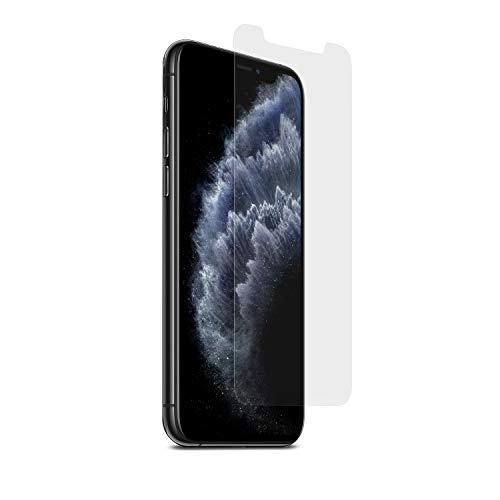 PureGear HD Clear Tempered Glass Screen Protector Compatible with Apple iPhone 11 Pro Max, w/Self Alignment Installation Tray, Touch Sensitive, Case Friendly, Lifetime Replacement Warranty