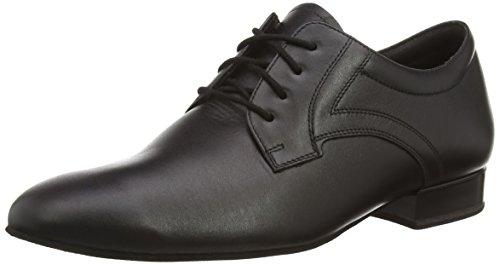 Diamant 085-075-028 męskie buty do tańca – standard & łaciński, czarny - czarny - 46 2/3 EU