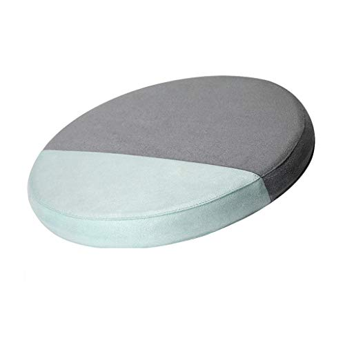Fine Portable Foam Cushion, Office Chair Cushion Car Seat Cushion, Orthopedic Pain Relief Breathable, Washable, Removable Fabric with Zipper (Gray)