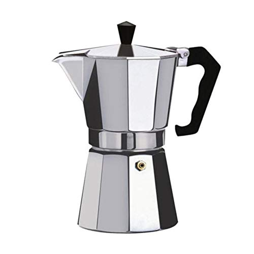 Cafetera de aluminio Moka Espresso Percolator Pot, Cafetera Moka Pot, Espresso Shot Maker Máquina espresso (300 ml)