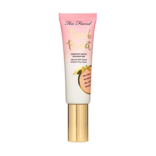Too Faced Peach Perfect Comfort Matte Foundation:Nude