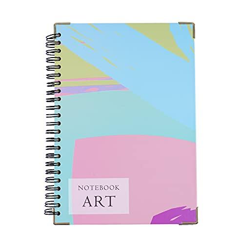 ASYOUWISH Cuaderno, Cuaderno A5 con Tapa dura Forrada, Papel Premium, 70 Hojas Para uso a Doble Cara, Se Puede Utilizar Como Diario, Libro de Composición, Agenda