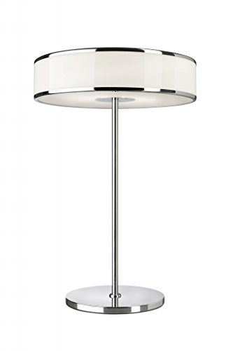 Sompex lampe de table salon Chrome/acrylique 59 cm, 17,5 W Dimmable, LED