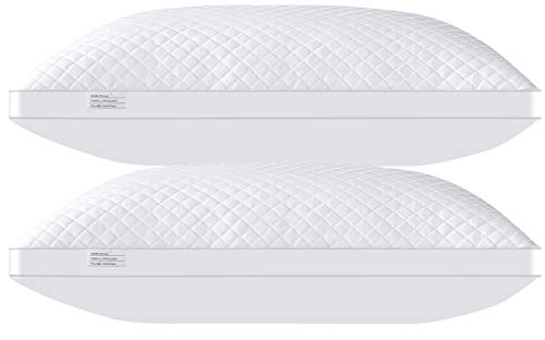 Bed Pillows for Sleeping 2 Pack Queen Size 20 x 28 Inches,...