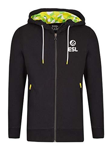 ESL Premium Zip Up Hoodie Schwarz XL