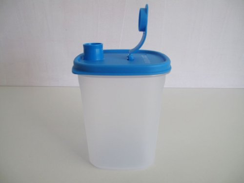 Tupperware Slim Line Jarra 1,0 L Nevera Botella Azul 686