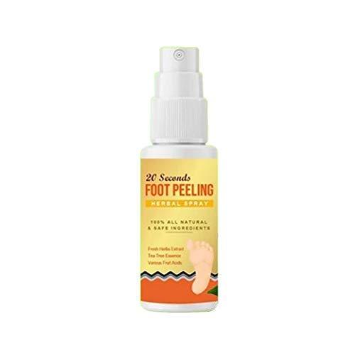 Snow forest 30ml Herbal Beriberi Spray Anti-picazón en Aerosol para pies para Eliminar el Olor y el Sudor de los pies Tratamiento antihongos de los Atletas Pie y tiña