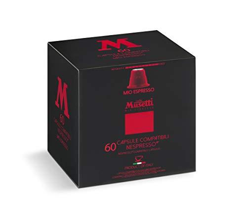 Musetti – Kapsel, kompatibel mit Kaffee, Mio Espresso, 240 Stück