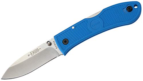 KA-BAR 4062BL, Dozier Folding Hunter, Blue Handle