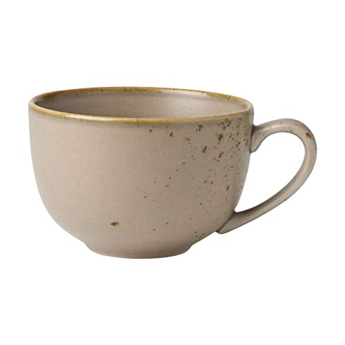 V & B Group Stone Ware Brown Milchkaffeeobertasse